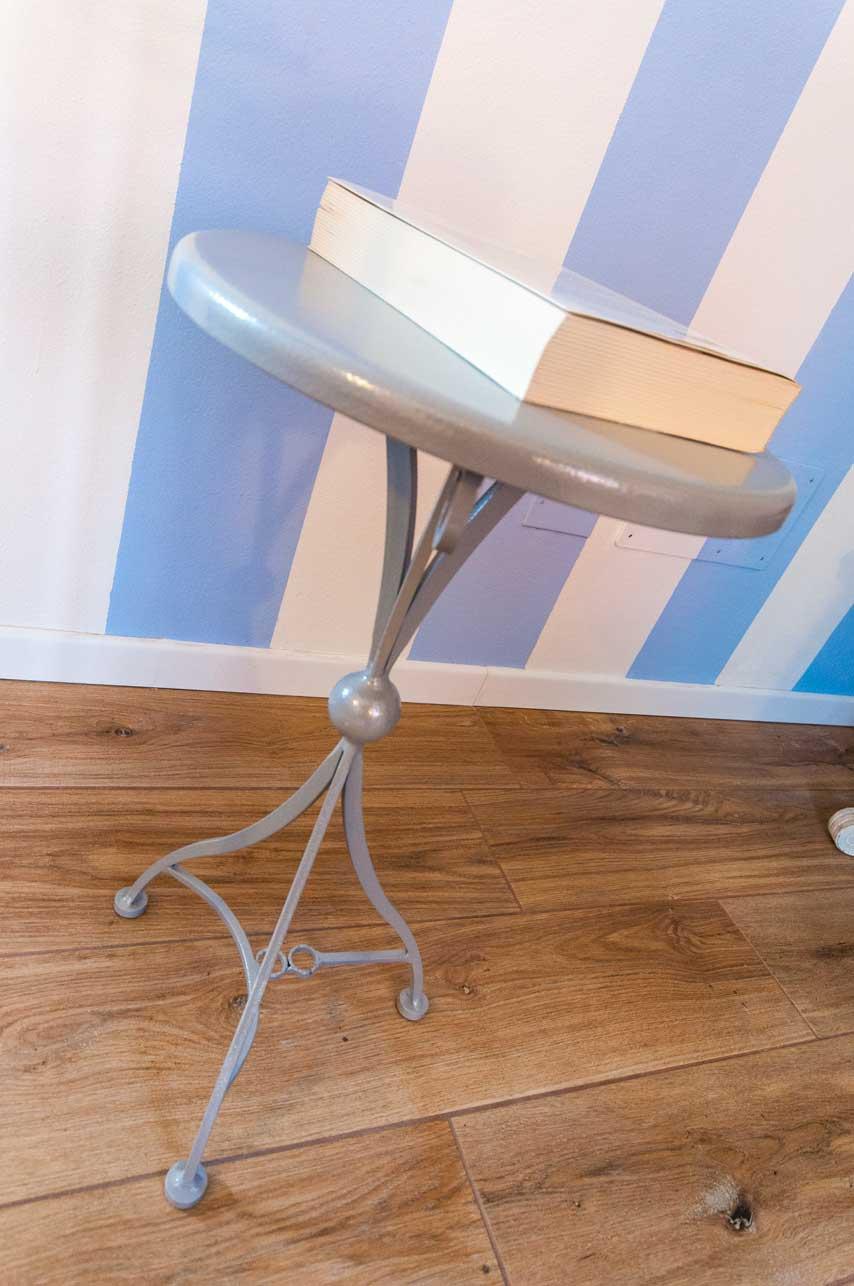 tavolino soggiorno in ferro